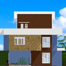 Fachada Frontal - Casa Saquarema
