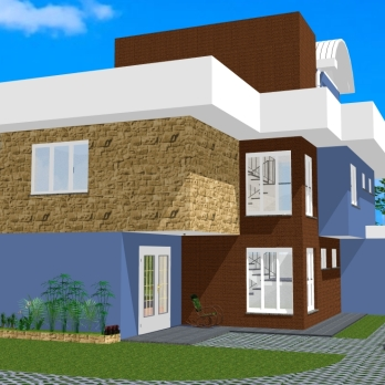 Perspectiva 1 - Casa Saquarema