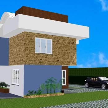 Perspectiva 2 - Casa Saquarema