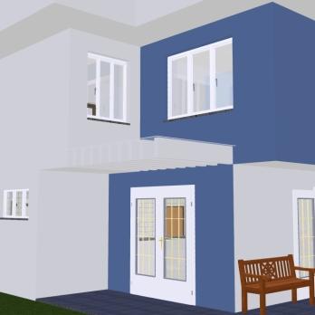Perspectiva 3 - Casa Saquarema