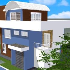 Perspectiva 4 - Casa Saquarema