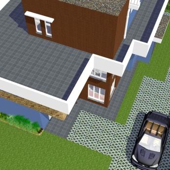 Perspectiva 6 - Casa Saquarema