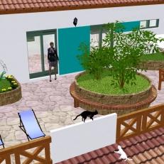 Perspectiva terraço