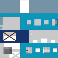 Fachada Lateral 1 - Casa Serramar