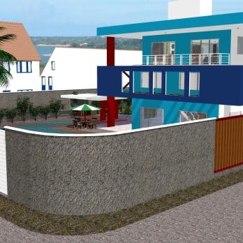 Perpectiva 1 - Casa Serramar