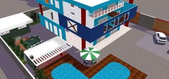 Vista Superior 1 - Casa Serramar