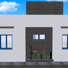 Casa Curitiba - fachada fundos