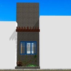 Casa Curitiba - Fachada lateral 1