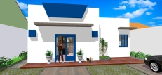 Casa Curitiba - Perspectiva_frente