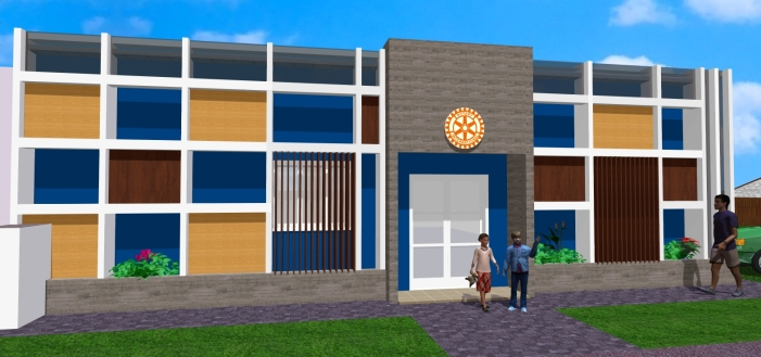 Projeto fachadas Rotary 3
